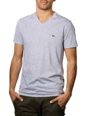 Lacoste T-Shirt Short Sleeves V Neck CCA