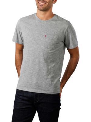 Levi's Classic Pocket T-Shirt chisel grey heather