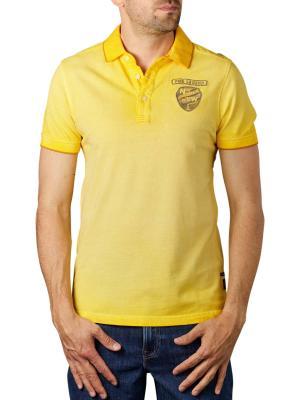 PME Legend Short Sleeve Polo Light Pique lemon