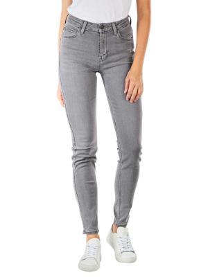 Lee Scarlett High Jeans Skinny Fit grey holly