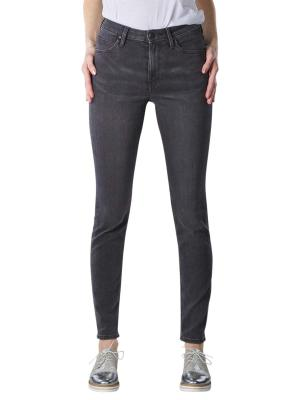 Lee Scarlett High Jeans Skinny black bucklin