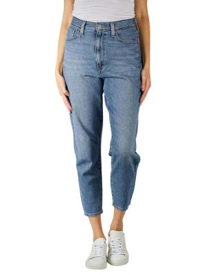 Levi's Mom Jeans High Waisted eco blue