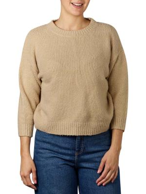 Set Pullover Boxy Fit stone