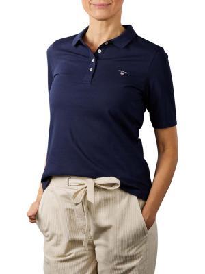 Gant Original Pique Polo Shirt evening blue
