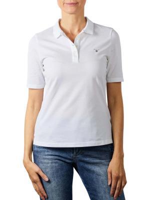 Gant Original Pique Polo Shirt white
