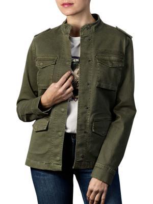 Set Jacket LS army green