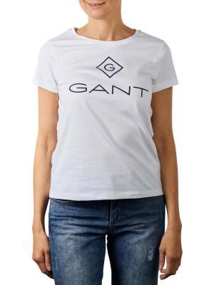 Gant Lock Up T-Shirt white