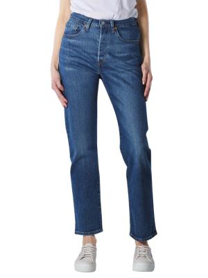 Levi's 501 Cropped Jeans Straight Fit charleston outlased