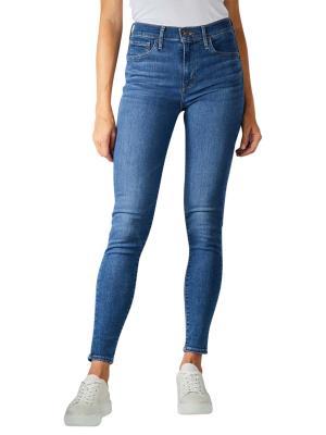 Levi's 720 Jeans Super Skinny High quebec drawn