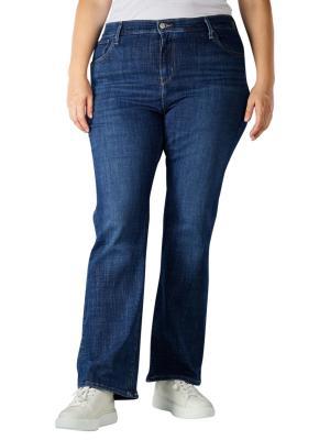 Levi's 725 Jeans Bootcut Plus Size lapis dark horse plus