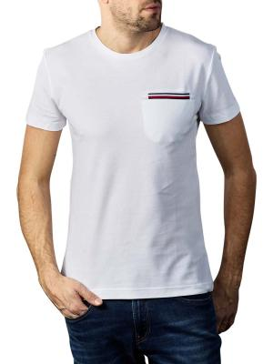 Tommy Hilfiger Pocket Flex T-Shirt white