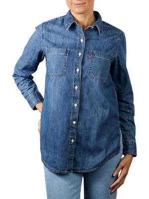 Levi's Jicama Tunic Shirt hide and seek lite