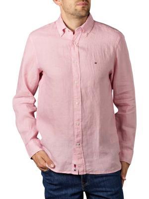 Tommy Hilfiger Linen Shirt Button Down glacier pink