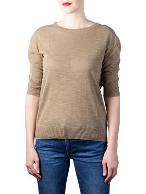 Yaya Sweater With Buttons army green