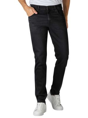 Wrangler Texas Slim Jeans Slim Fit black crow