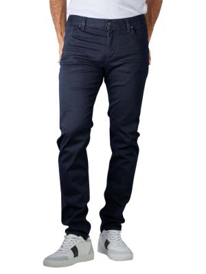 Alberto Slim Jeans DS Dual FX Denim navy
