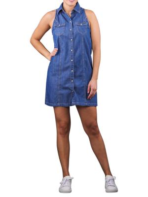 Pepe Jeans Jess Denim Dress blue
