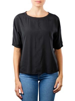 Marc O'Polo Oversize Shirt Blouse Short Sleeve dusty black