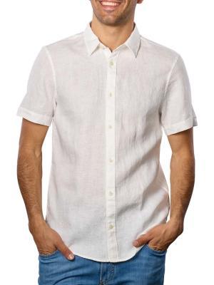 Scotch & Soda Short Sleeve Shirt Regular white