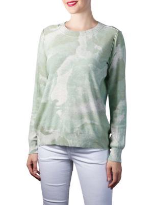 Yaya Reversible Sweater dessert green dessin