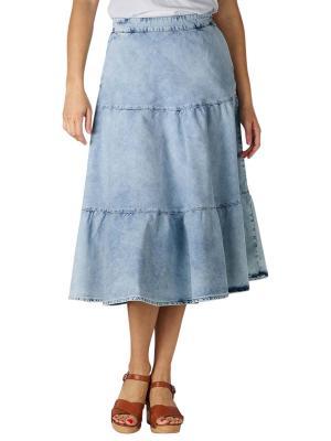 Set Volants Skirt light blue denim