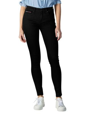 Tommy Jeans Nora Skinny Fit staten black stretch