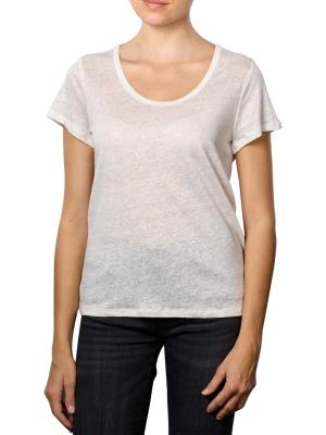 Set T-Shirt V-Neck cloud dancer