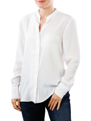 Yaya Blouse Double Placket pure white