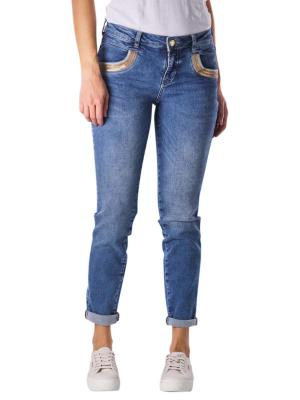 Mos Mosh Naomi Jeans Regular Wave blue