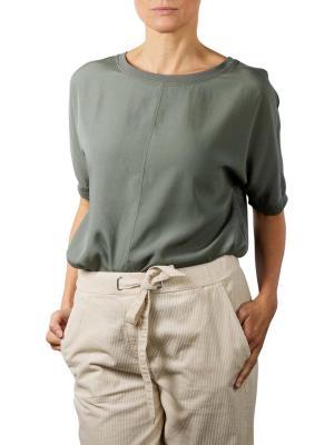 Marc O'Polo Oversize Shirt Blouse Short Sleeve olive garden