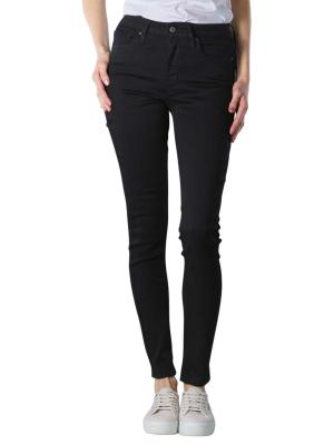 Levi's 721 Jeans High Rise Skinny soft black