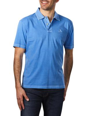 Gant Sunfaded Jersey SS Rugger pacific blue