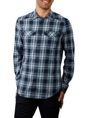 PME Legend Twill Check Shirt 5145