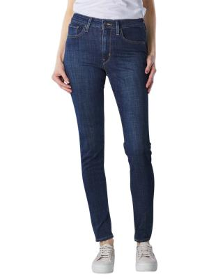 Levi's 721 Jeans High Rise Skinny blue story