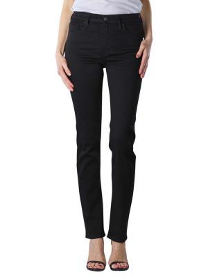 Levi's 724 Jeans High Rise Straight soft black