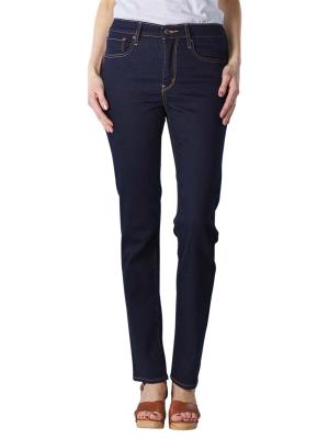 Levi's 724 Jeans High Rise Straight cast shadows