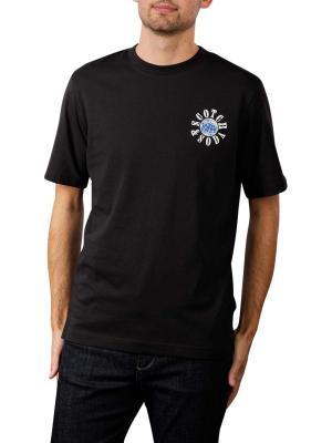 Scotch & Soda Graphic Logo T-Shirt black