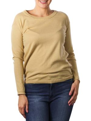 Yaya Sweater With Buttons On Back macaroon