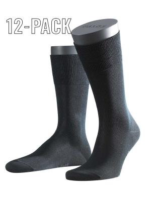 Falke 12-Pack Tiago black