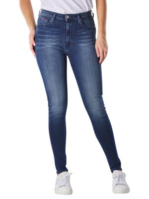 Tommy Jeans Sylvia Super Skinny new niceville mid blue