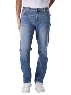 Wrangler Texas Jeans Straight worn broke