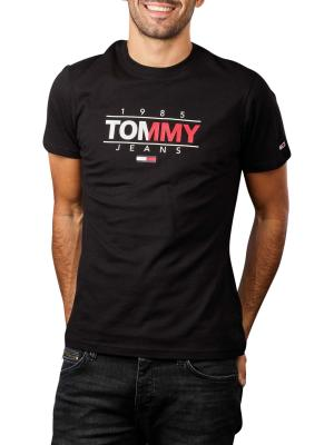 Tommy Jeans Graphic T-Shirt Crew Neck black