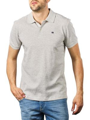 Scotch & Soda Polo Shirt grey melange