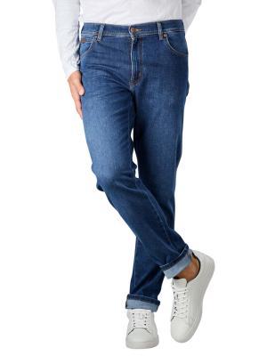 Wrangler Texas Slim Jeans blue silk
