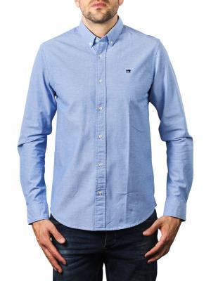 Scotch & Soda Essentials Oxford Shirt Regular blue