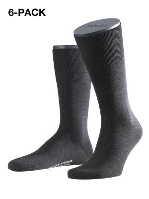 Falke 6-Pack Airport anthracite