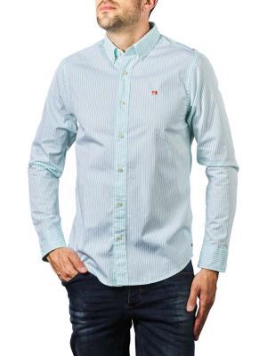 Scotch & Soda Oxord Shirt Organic Cotton striped 0221