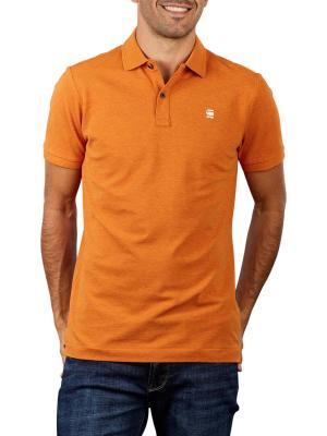 G-Star Dunda Slim Polo Shirt amber heather