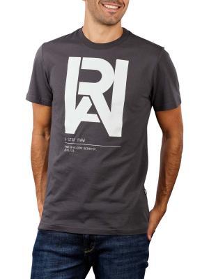 G-Star Graphic Raw T-Shirt raven