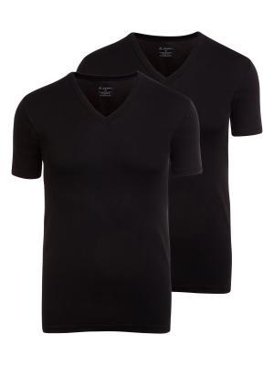 Jockey 2-Pack Modern Classic V-Neck Shirt black